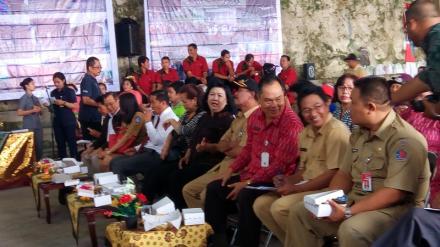 Ketua Umum BK3S Provinsi Bali Buka Kegiatan Lansia Berbasis Masyarakat Tahun 2018 Di Desa Wanagiri