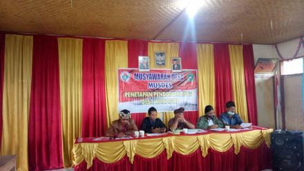 Musyawarah Desa Penetapan Pendataan SDGs Desa Wanagiri