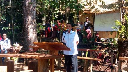 Pembukaan Launching Showcase oleh Gubernur Bali Ma
